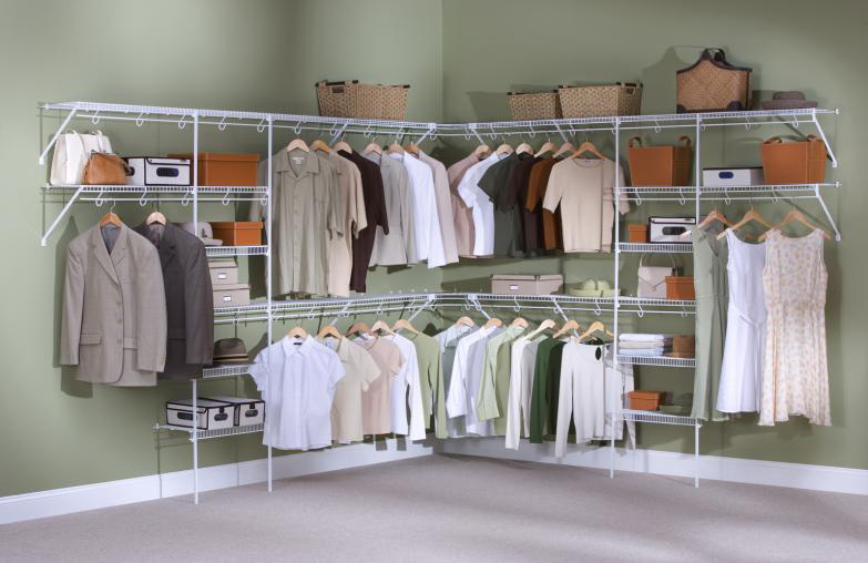 Archaic Closet Wire Shelving Systems Design